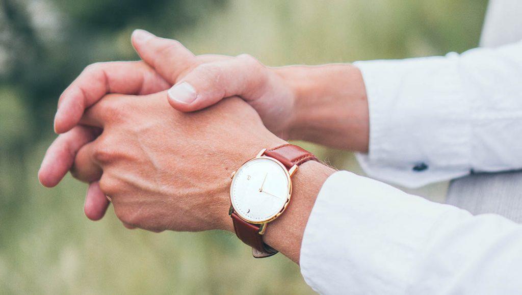 Nice watches from Sandell Westkusten vegan strap