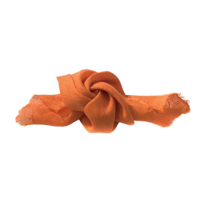Vaucluse scarves accessories lolumas orange women love eco fashion online shopping