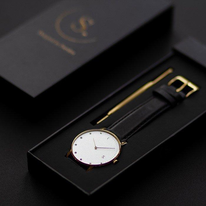 ECO-collection of watches vegan strap Sweden Westkusten Sandell watches