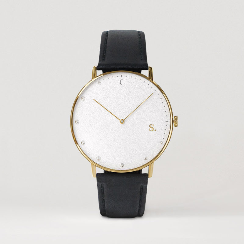 Sandell Watches with leather strap